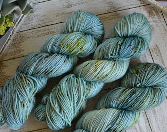 "DK Weight, Van Gogh Series: ""Fishing Boats at Sea"", Superwash Merino, Hand Dyed Yarn, 100g Skein"
