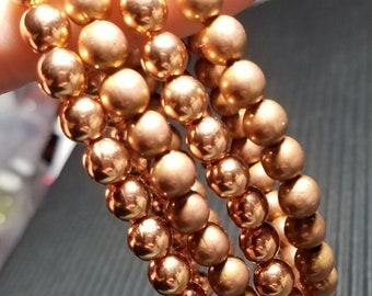 Copper Bracelet, 100% Copper Healing bracelet Arthritis Bracelet, Copper Beaded Bracelet