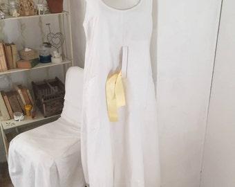 Carole Fikiel white summer dress
