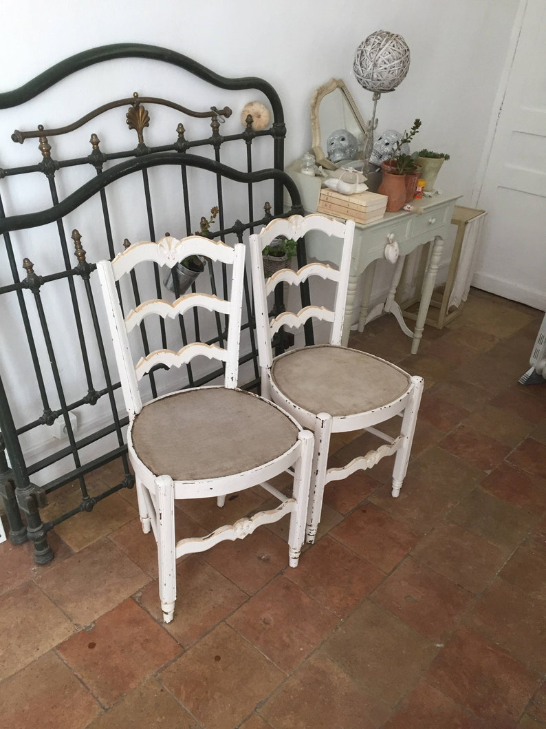 Reserved For Pilar French Dining Chairs Shabby Chic