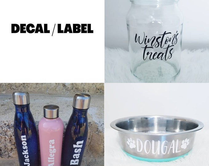 DecalsLabels **DECAL ONLY**