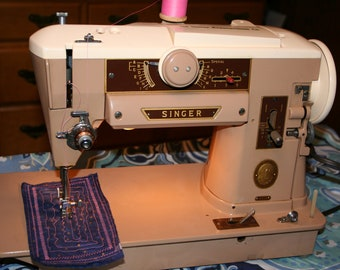Singer 401 Sewing Machine Cleaned Oiled