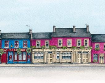 Louisburgh Pubs, Co.Mayo, Ireland