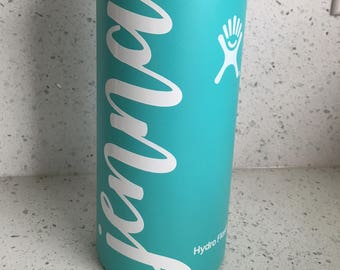customized vinyl label for Hydro Flask/Swell