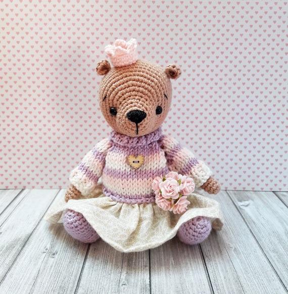 Awesome Free Crochet Teddy Amigurumi Bear Pattern - Free Amigurumi ...   582x570