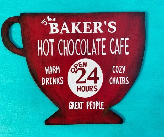 Christmas Personalized Customizable Hot Chocolate Sign