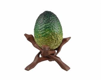 Dragon Egg Stand wooden | Bracket for DragonEgg | Dragon Egg Holder Wood
