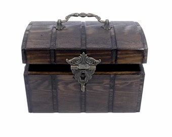 Mystical Wood Chest | Casket | Box | Decoration