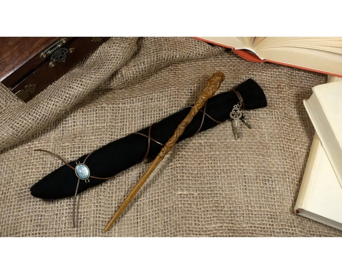 Magic wand incl. bag | Magic Wand with Bag | Harry Potter Inspired