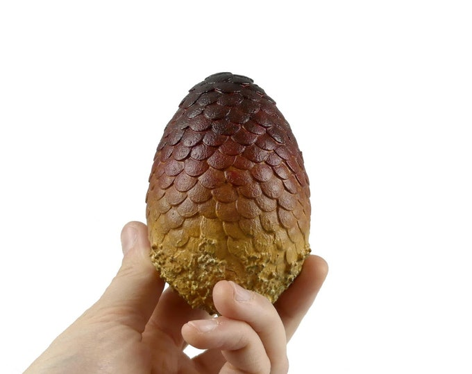 """Dragon Egg Red """"Drogon"""" 85 mm high 