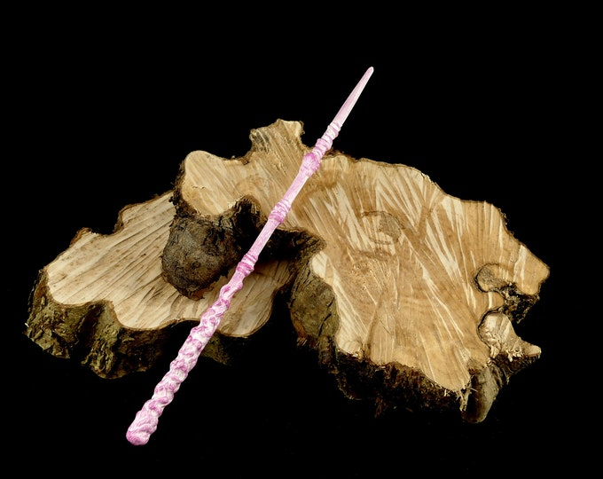 Magic Wand White Pink | Magic Wall | Costume Accessories | Harry Potter Inspired