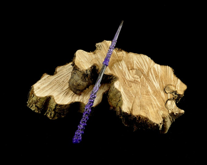 Magic Wand Brown Purple | Magic Wall | Costume Accessories | Harry Potter Inspired