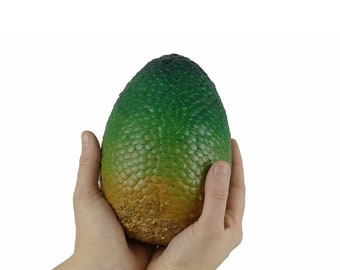 "Dragon Egg Green ""Rhaegal"" 165 mm high | Dragon Eggs | Game of Thrones inspired"