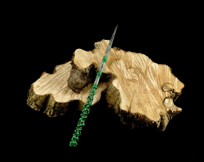 Magic Wand Brown Green | Magic Wall | Costume Accessories | Harry Potter Inspired