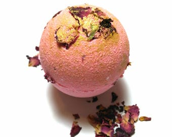 Strawberry Rose Moscato Bath Bomb