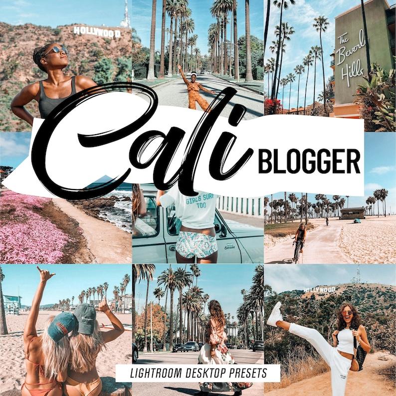 4 Lightroom presets CALIFORNIA pink presets instagram travel blogger,  summer beach presets outdoor fashion lifestyle, lightroom desktop