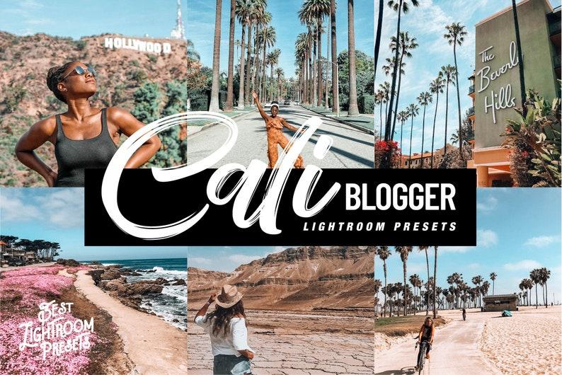 4 Lightroom presets  instagram presets, CALI Blogger presets, Vibrant  Colors presets, Bright presets, beach summer presets, pink presets