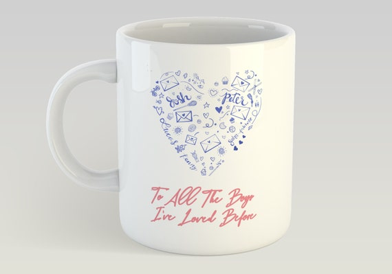 To All The Boys I've Loved Before Movie Mug by Etsy