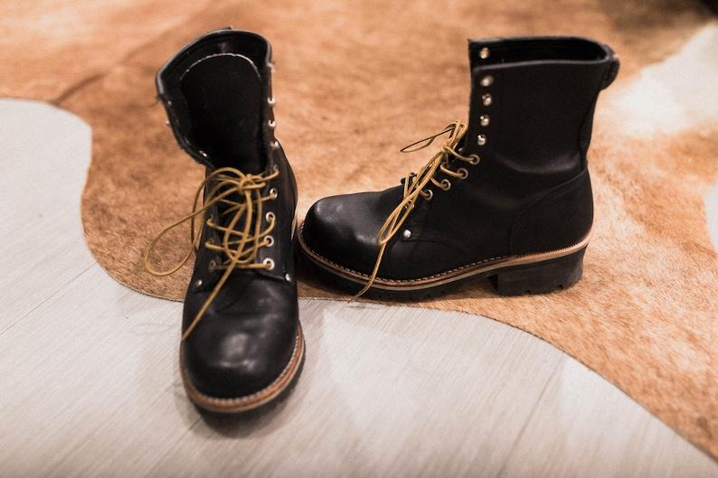 cuir Gorilla Bottes chaussure de en véritable 35jRq4AL