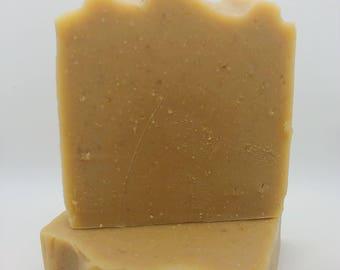 Oatmeal, Milk & Honey-Handmade Artisan Goats Milk Soap-Cold Process Soap
