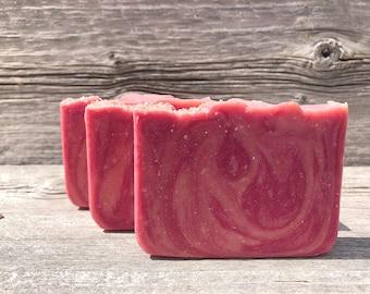Guava Fig-Handmade Artisan Goats Milk Soap-Cold Process Soap