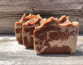 Shea & Santal-Handmade Artisan Goats Milk Soap-Cold Process
