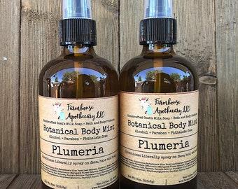 Plumeria-Botanical Body Mist-Body Splash-Perfume