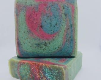 Blue Agave-Handmade Artisan Goats Milk Soap-Cold Process Soap