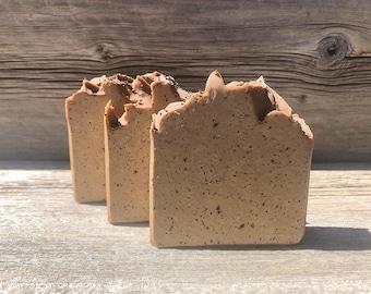 Lemon Poppyseed Muffin-Handmade Artisan Goats Milk Soap-Cold Process