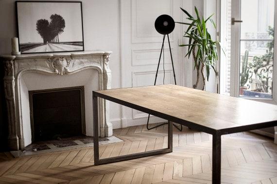 TABLE À MANGER de style Loft-Industriel-Atelier