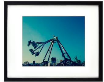 Barry Island Funfair Freak Out Photography Fairground Rides Summer Contemporary