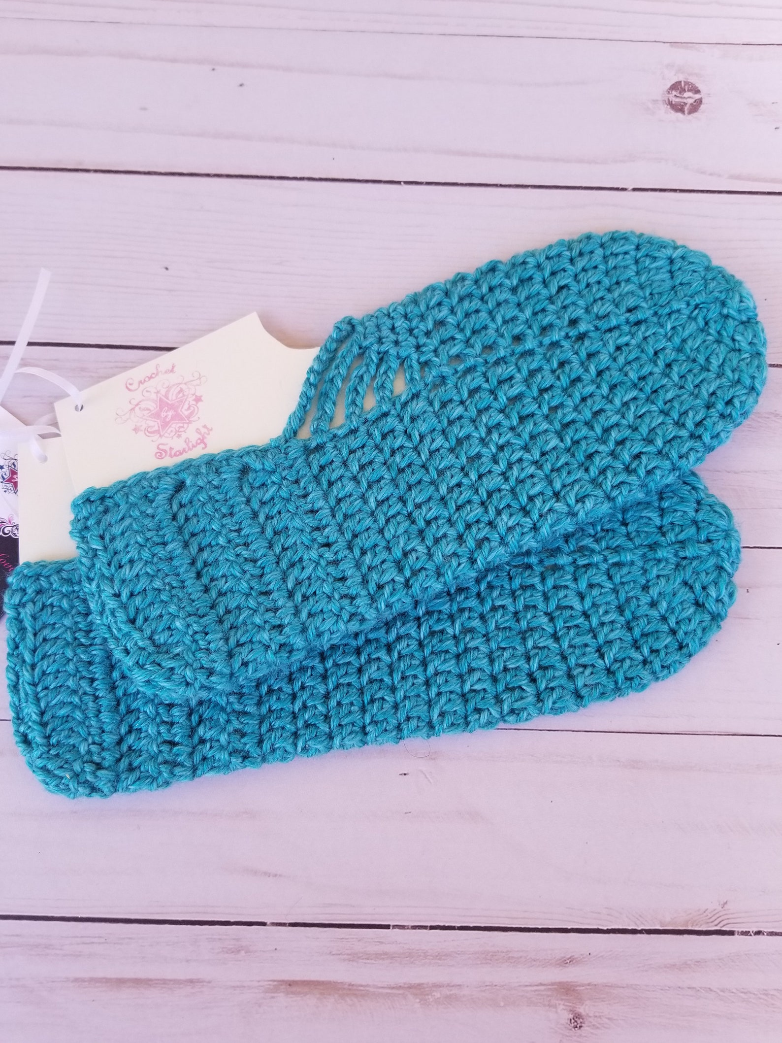 women's crochet ballet slippers