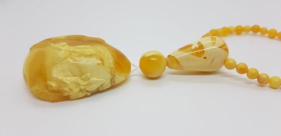 Natural Lizardite pendant Oregon mined yellow white gold twirl bail 77ct