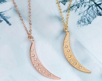 NIGHT collection - moon pendant