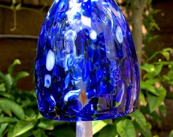 Handcrafted Art Glass Bell sun catcher/chime