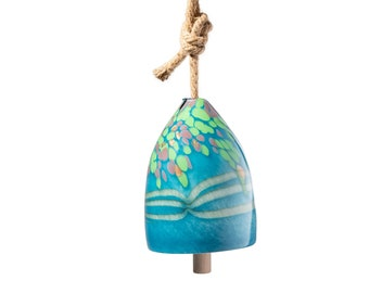 Free US Shipping~Handmade Art Glass Bell/Buoy Chimes / Hanging Decor Sun Catcher