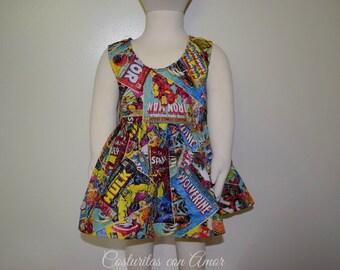 Marvel comics Dress