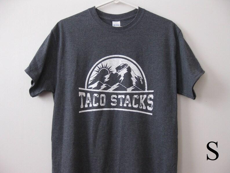 5ead478203b Taco Stacks t-shirt shirt Heather Grey Adult Small