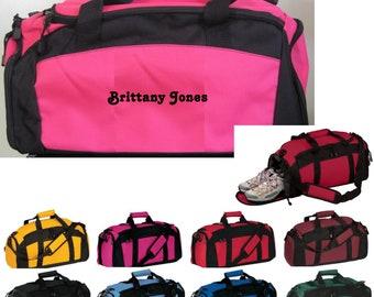 Printed Gym Locker bags By Quadra 47 x 30 x 27cms Personalised Sports Bags
