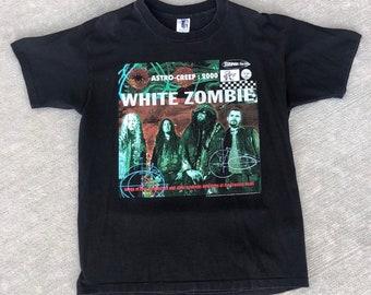 f7e21fc6 1996 Vintage White Zombie Concert Tour T-Shirt / Heavy Metal / Noise Rock  Band / Rob Zombie / 90s / X-Large / Music / XL