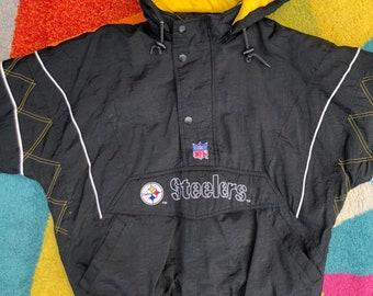 promo code b222a 6c90f Steelers winter coat   Etsy