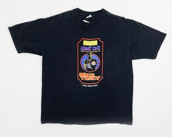 New Old Stock Dick Tracy Black T-Shirt Adult Size X-Large