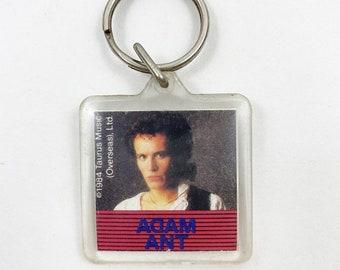 Vintage 1984 Adam Ant Keychain