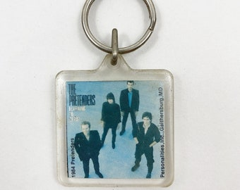 Vintage 1984 The Pretenders Band Keychain