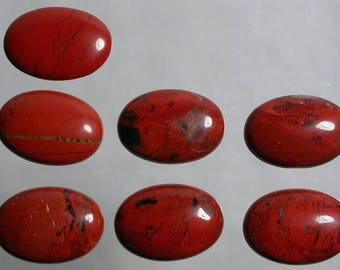 Jasper 76x28mm Cabochon Marquise Form Jasper Cabochon For Jewelry Making Green Red Cabochon For Pendant