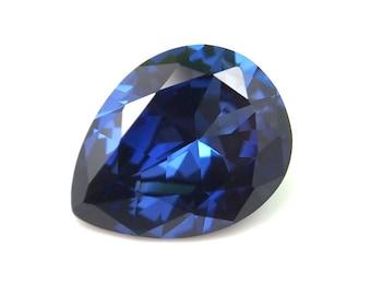 Blauer Saphir Lose Edelstein 1,95 Karat Marquise Cut AGSL zertifiziert