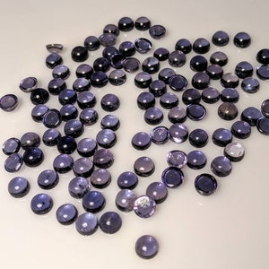 263Ct Natural Blue Iolite Some Sun Stones Inclusions Mix Size Original Loose Iolite Cut Gemstones 12 Ps Lot Use Making Jewelry Free Shipping