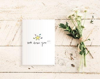 Well Done You !!!  Congratulations / New Job / Celebration / Well Done Card