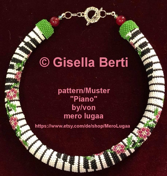 Peyote With A Twist Muster Peytwist Muster Pwat Muster Etsy
