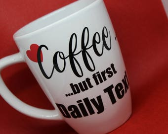 JW - Daily Text Coffee Mug, JW Gift, Elder Gift, Pioneer Gift, Ministry